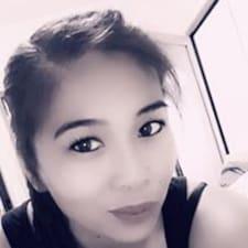 Angie felhasználói profilja