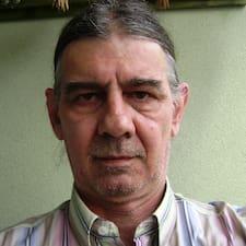 Användarprofil för Gábor