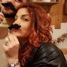 Valentina felhasználói profilja