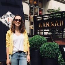 Nutzerprofil von Hannah