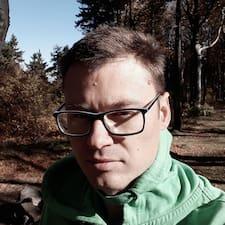 Henkilön Jakub käyttäjäprofiili