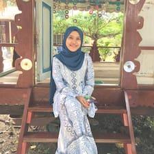 Haziqah felhasználói profilja