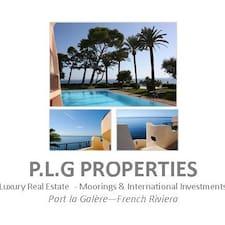 Profil utilisateur de PLG Properties