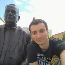Användarprofil för Вячеслав