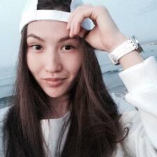Aydina felhasználói profilja