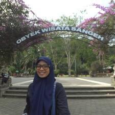 Latifa W felhasználói profilja