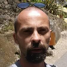 Gabi felhasználói profilja