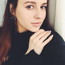 Profil utilisateur de Валерія
