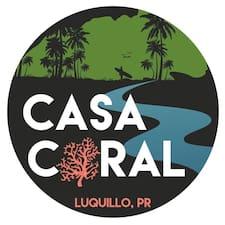 Användarprofil för Coral