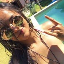 Marcela felhasználói profilja