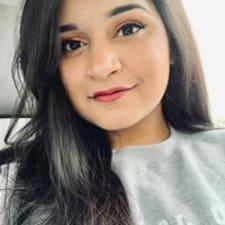 Sanjana felhasználói profilja