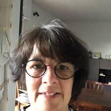 Cristina felhasználói profilja