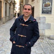 Jose Antonio felhasználói profilja