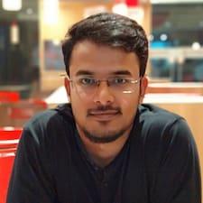 Pranshu felhasználói profilja