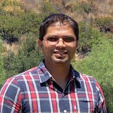Rupesh felhasználói profilja