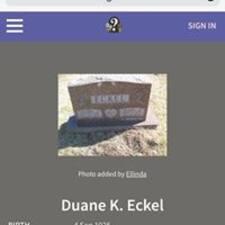 Duane felhasználói profilja