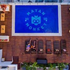 Mayan Monkey Cabos bir süper ev sahibi.