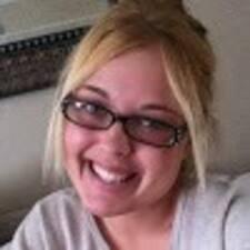 Erika felhasználói profilja
