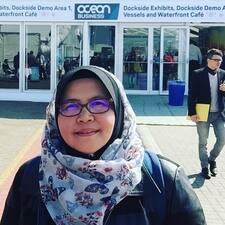 Profil utilisateur de Siti Salviah