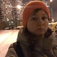 Användarprofil för Юлия