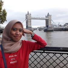 Amalina felhasználói profilja