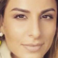 Maria felhasználói profilja