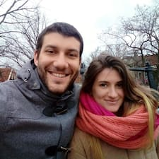 Användarprofil för Laura & Agustín
