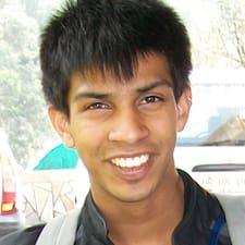 Perfil do utilizador de Amit
