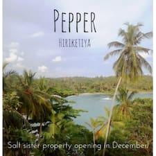Profil korisnika Pepper
