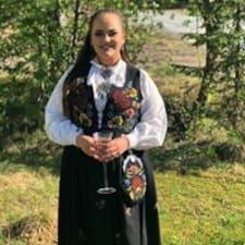 Ingrid Bjørnsmoen felhasználói profilja