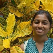 Nandhitha felhasználói profilja