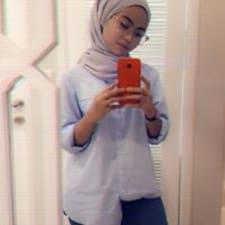 Profil utilisateur de Farah Nasuha