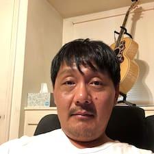 Frank felhasználói profilja