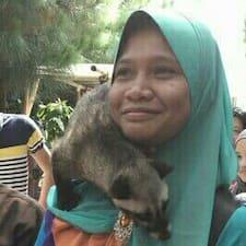 Perfil do utilizador de Siti Rohaizah