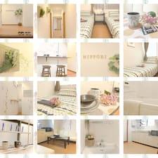 Tokyo Hostel User Profile