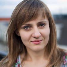 Perfil do utilizador de Justyna