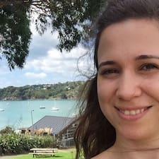 Liliana felhasználói profilja