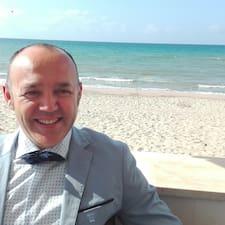 Valerio felhasználói profilja