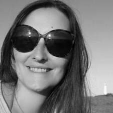 Ivanna felhasználói profilja