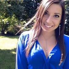 Joanie felhasználói profilja