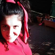 Elisabetta felhasználói profilja