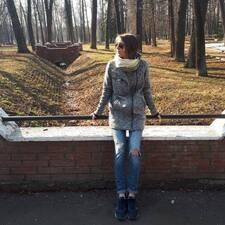 Perfil do utilizador de Elena