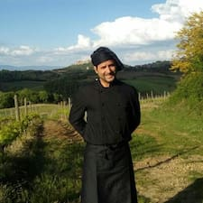 Giorgio is the host.
