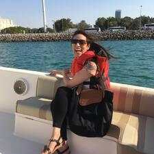 Irfana felhasználói profilja
