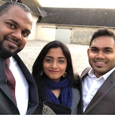 Profil utilisateur de Saranya & Mohan