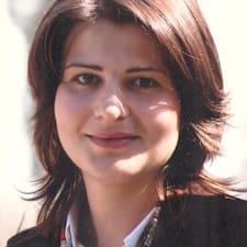 Dragana felhasználói profilja