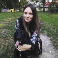 Perfil do utilizador de Kseniia