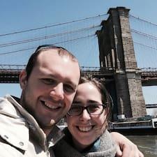Stephanie & Jerome felhasználói profilja