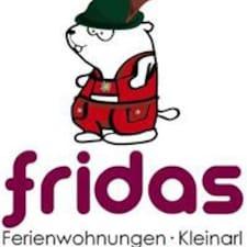 Användarprofil för Fridas