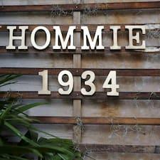 Hommie User Profile